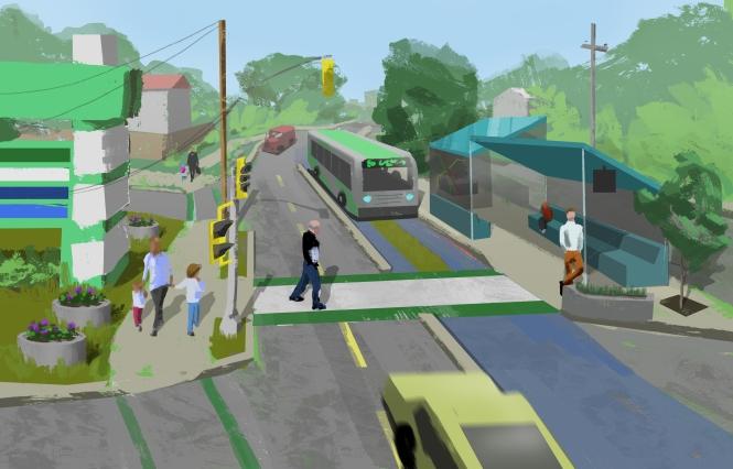 Berys Road BRT Concept image